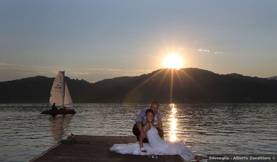 Il matrimonio di Jacopo e Nicky a Angera, Varese