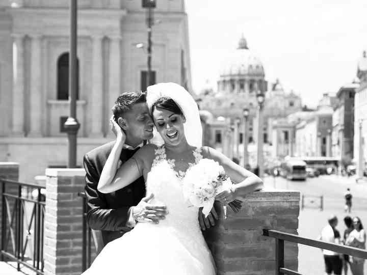 le nozze di Isabella e Simone