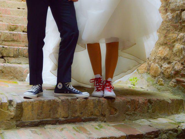 Il matrimonio di Andrea e Lisa a Suvereto, Livorno 30