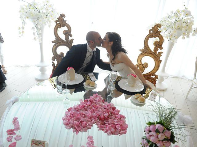 le nozze di Virginia e Fabrizio