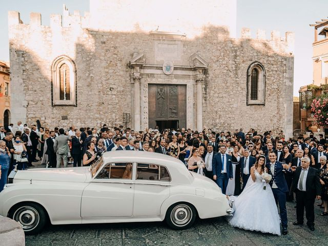 Il matrimonio di Federico e Ilenia a Taormina, Messina 65