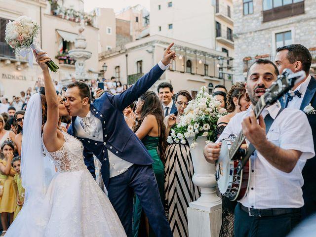 Il matrimonio di Federico e Ilenia a Taormina, Messina 66