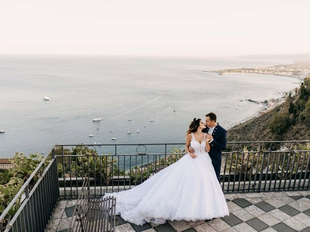 Il matrimonio di Federico e Ilenia a Taormina, Messina 71