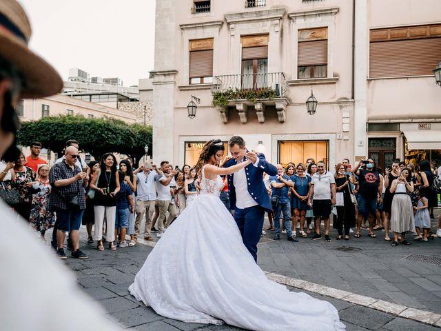 Il matrimonio di Federico e Ilenia a Taormina, Messina 73