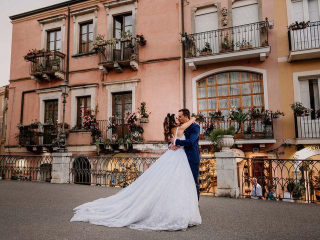 Il matrimonio di Federico e Ilenia a Taormina, Messina 74