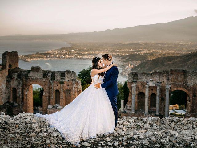 Il matrimonio di Federico e Ilenia a Taormina, Messina 77