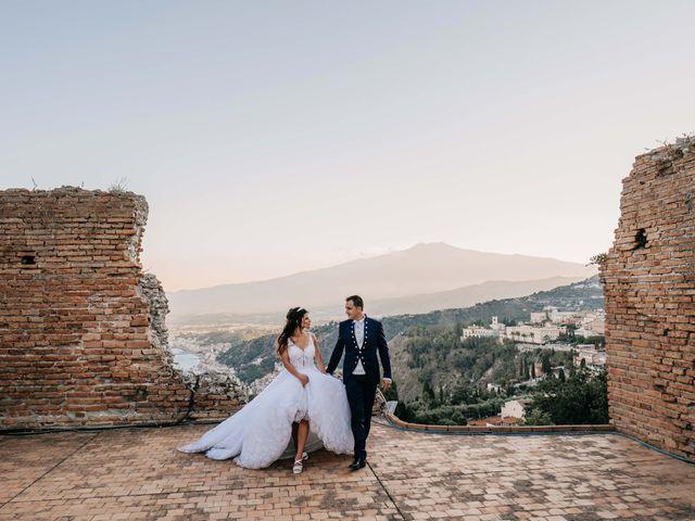 Il matrimonio di Federico e Ilenia a Taormina, Messina 80