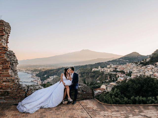 Il matrimonio di Federico e Ilenia a Taormina, Messina 82