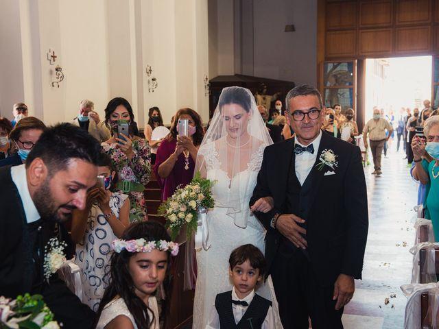 Il matrimonio di Adriano e Martina a Terme Vigliatore, Messina 8
