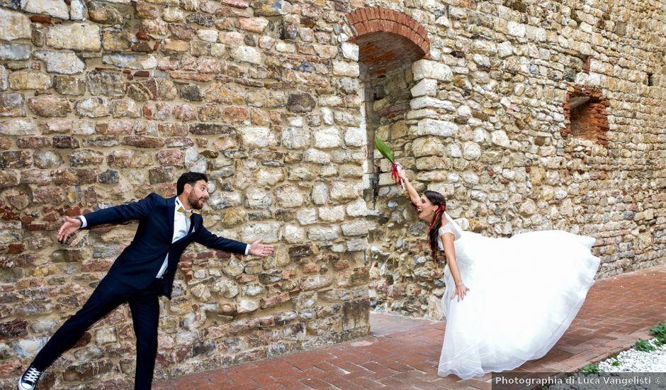 Il matrimonio di Andrea e Lisa a Suvereto, Livorno