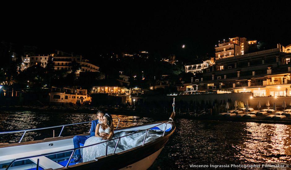Il matrimonio di Federico e Ilenia a Taormina, Messina