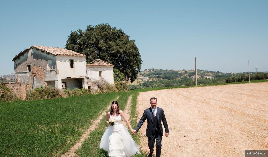 Il matrimonio di Alberto e Elisabetta a Spoltore, Pescara