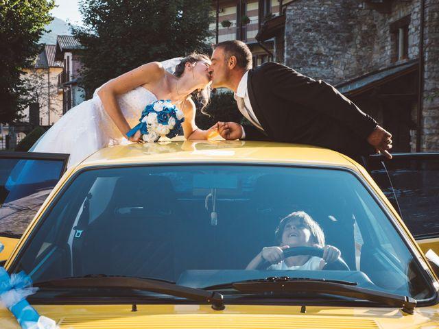 le nozze di Chiara e Corrado