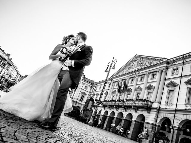 Il matrimonio di Enrico e Federica a Aosta, Aosta 33