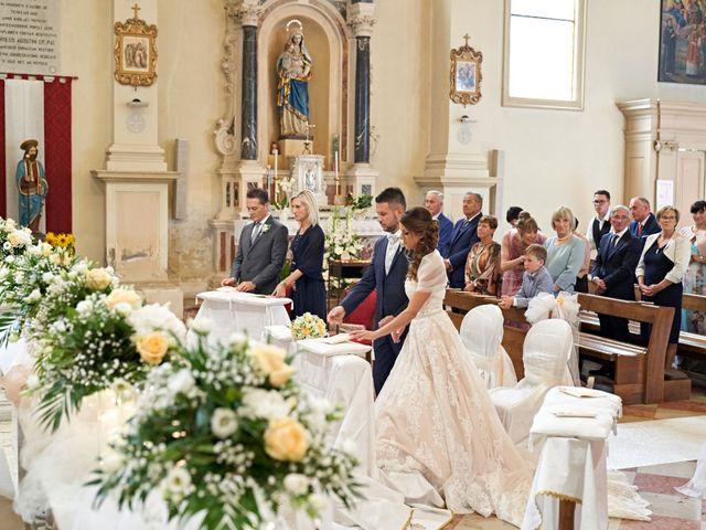 Il matrimonio di Daniele e Gloria a Camposampiero, Padova 34