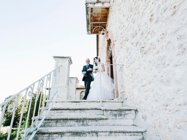 Il matrimonio di Pier Francesco e Danila a Massa Martana, Perugia 44