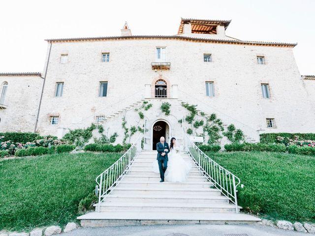 Il matrimonio di Pier Francesco e Danila a Massa Martana, Perugia 45