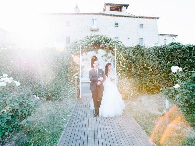 Il matrimonio di Pier Francesco e Danila a Massa Martana, Perugia 1