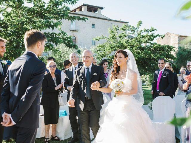 Il matrimonio di Pier Francesco e Danila a Massa Martana, Perugia 46