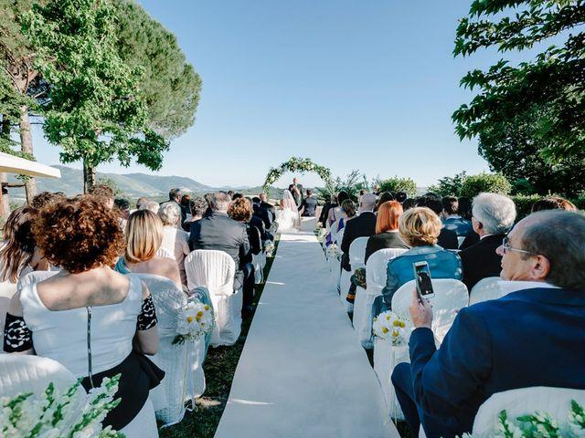 Il matrimonio di Pier Francesco e Danila a Massa Martana, Perugia 50