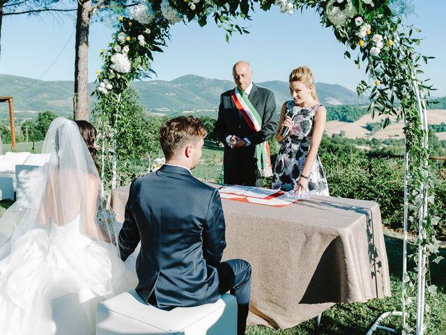 Il matrimonio di Pier Francesco e Danila a Massa Martana, Perugia 51