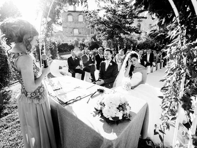 Il matrimonio di Pier Francesco e Danila a Massa Martana, Perugia 52