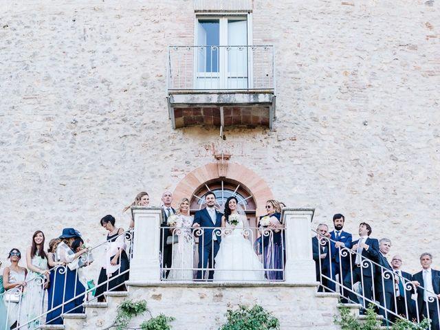 Il matrimonio di Pier Francesco e Danila a Massa Martana, Perugia 60