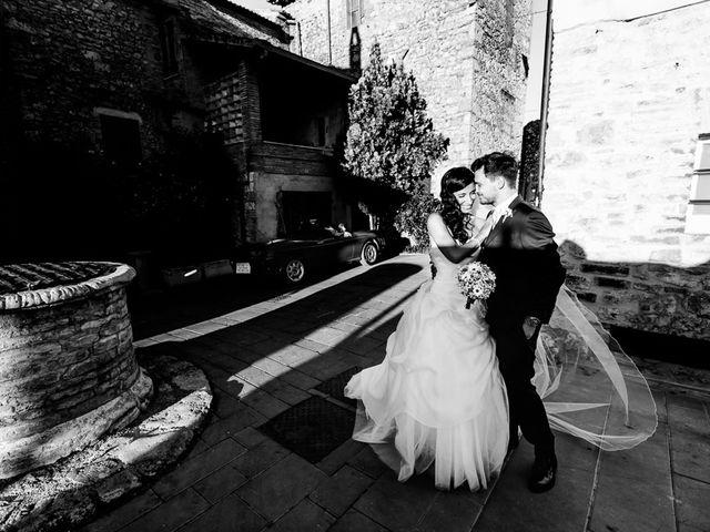 Il matrimonio di Pier Francesco e Danila a Massa Martana, Perugia 2