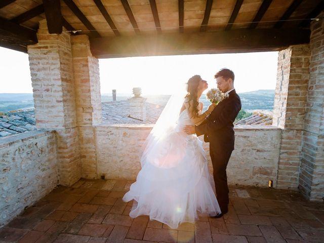 Il matrimonio di Pier Francesco e Danila a Massa Martana, Perugia 71