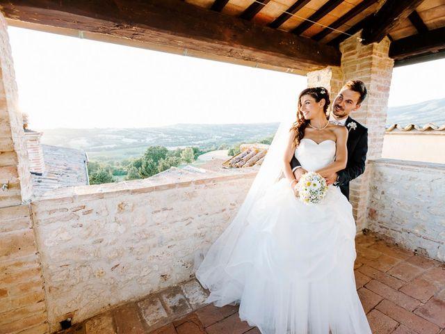 Il matrimonio di Pier Francesco e Danila a Massa Martana, Perugia 72