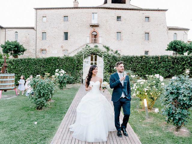 Il matrimonio di Pier Francesco e Danila a Massa Martana, Perugia 77