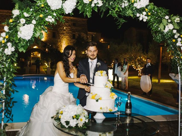 Il matrimonio di Pier Francesco e Danila a Massa Martana, Perugia 82