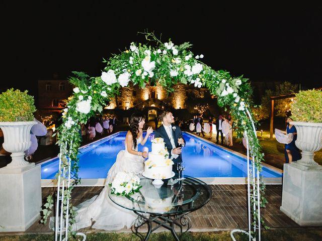 Il matrimonio di Pier Francesco e Danila a Massa Martana, Perugia 83