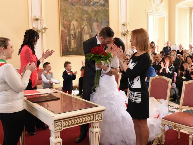 Il matrimonio di Alessandro e Anna a Varese, Varese 17