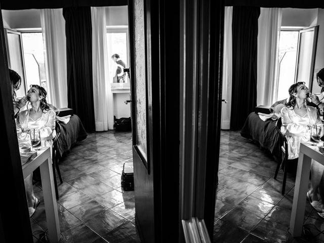 Il matrimonio di Umberto e Roberta a Vico Equense, Napoli 10