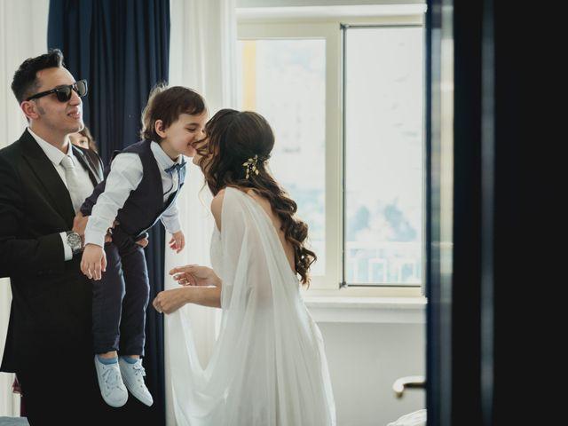 Il matrimonio di Umberto e Roberta a Vico Equense, Napoli 16