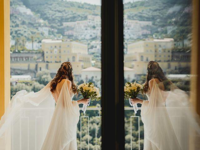 Il matrimonio di Umberto e Roberta a Vico Equense, Napoli 18