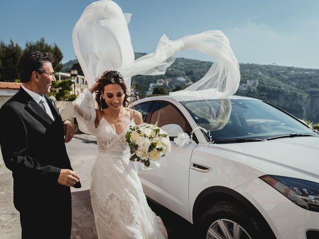 Il matrimonio di Umberto e Roberta a Vico Equense, Napoli 22