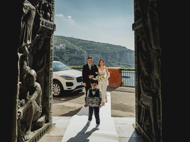 Il matrimonio di Umberto e Roberta a Vico Equense, Napoli 23