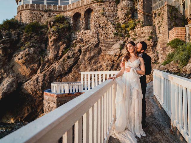 Il matrimonio di Umberto e Roberta a Vico Equense, Napoli 40