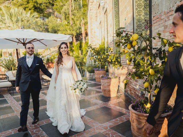 Il matrimonio di Umberto e Roberta a Vico Equense, Napoli 45