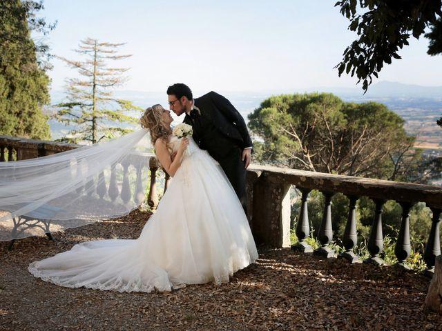 Il matrimonio di Alessandro e Alessia a Cortona, Arezzo 33
