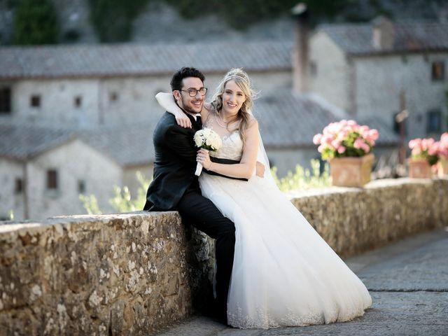 Il matrimonio di Alessandro e Alessia a Cortona, Arezzo 37
