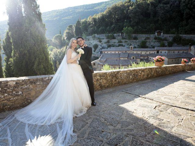 Il matrimonio di Alessandro e Alessia a Cortona, Arezzo 39