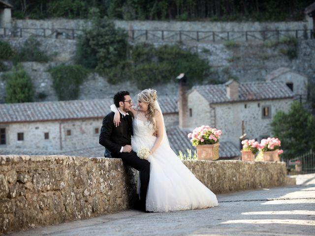 Il matrimonio di Alessandro e Alessia a Cortona, Arezzo 41