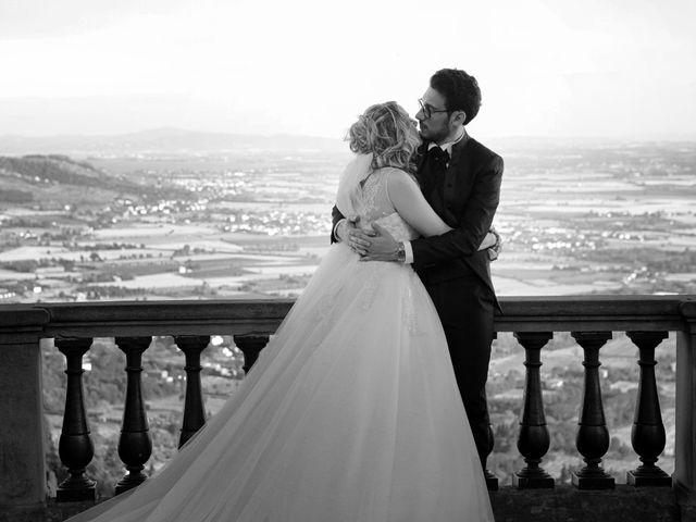 Il matrimonio di Alessandro e Alessia a Cortona, Arezzo 44