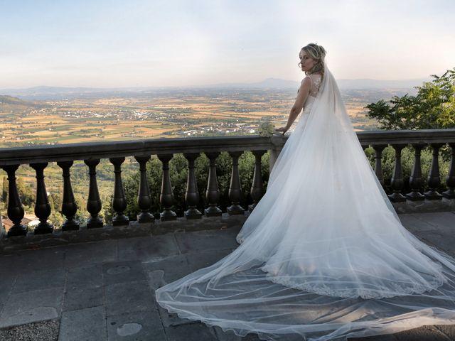 Il matrimonio di Alessandro e Alessia a Cortona, Arezzo 46