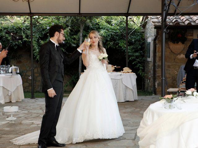 Il matrimonio di Alessandro e Alessia a Cortona, Arezzo 47