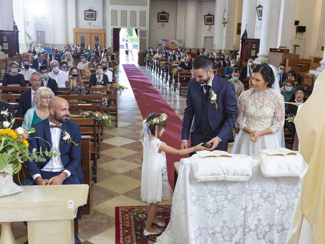 Il matrimonio di Alessandro e Giulia a Loria, Treviso 16