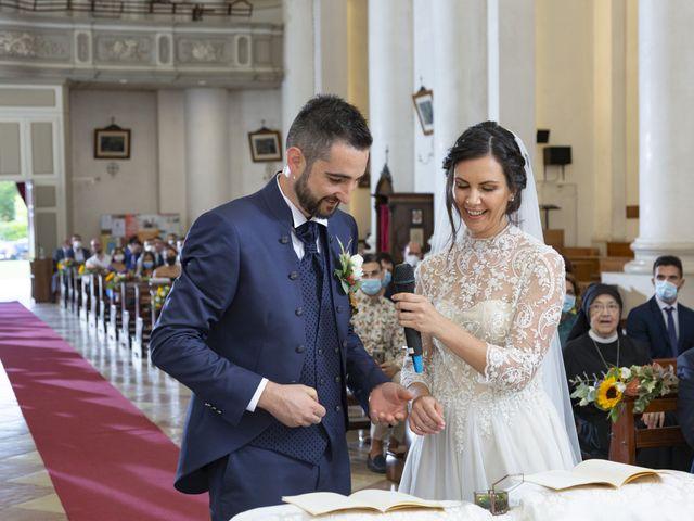 Il matrimonio di Alessandro e Giulia a Loria, Treviso 17